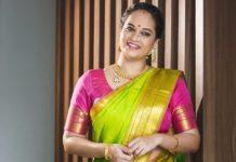 Suja Varunee shares her child's smile