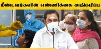 Corona Recovery Rate in Tamilnadu State