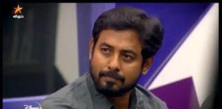 Actor Aari in Vijay TV Serial
