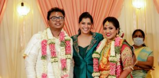 Cinematographer GK Vishnu Wedding Photos