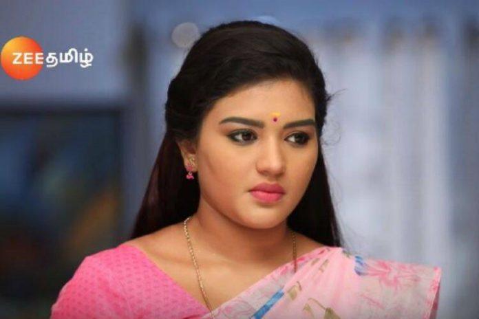 Actress Nalini in Sembaruthi Serial