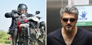 Latest Photos of Thala Ajith in Feeling